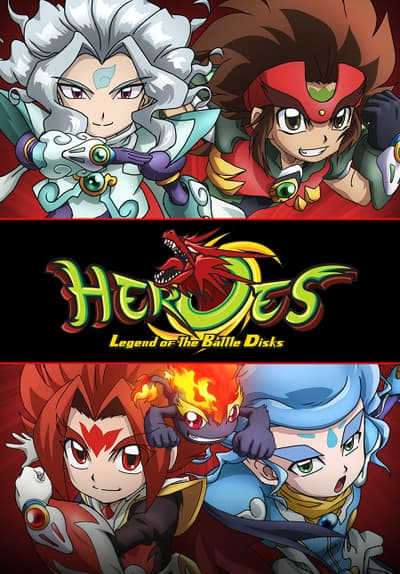 Heroes: Legend of the Battle Disks Free TV Series Poster Image