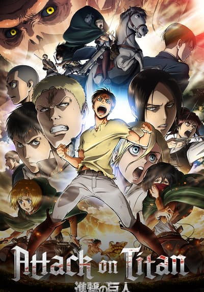 Attack on Titan (Subtitled) Free TV Series Poster Image