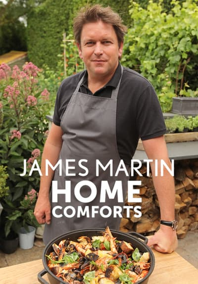James Martin Home Comforts S01:E05 - Movie Night Nibbles Free TV Episode Poster Image
