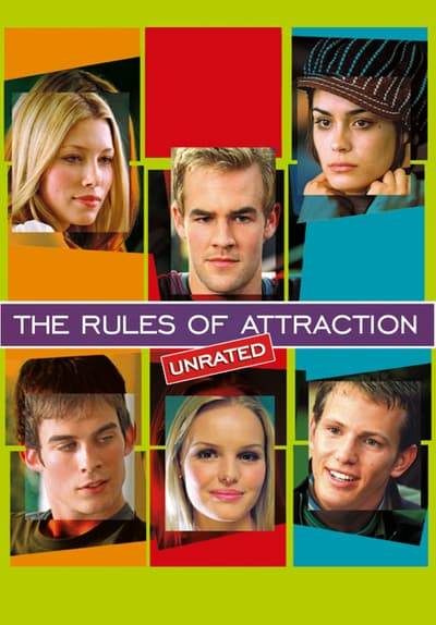 The Rules of Attraction Full Movie Poster Image