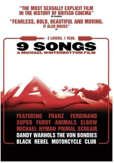 Watch 9 Songs (2004) Full Movie Free Streaming Online | Tubi
