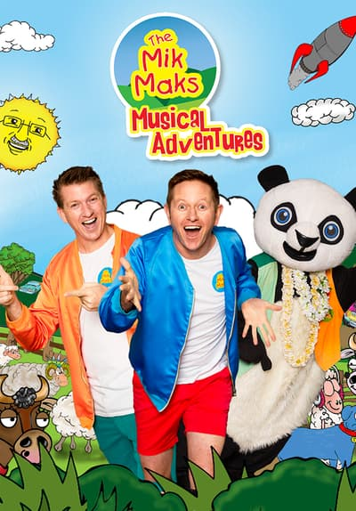 The Mik Maks: Musical Adventures Full Movie Poster Image