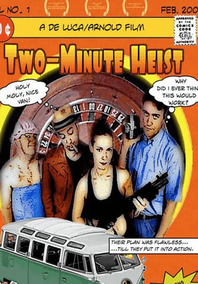Two Minute Heist Full Movie Poster Image