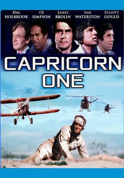 Capricorn One Full Movie Poster Image