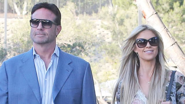 Watch Christina El Moussa Steps Out For A Date Night With
