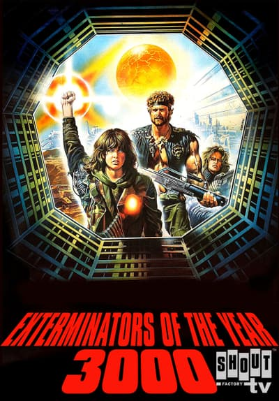 Exterminators of the Year 3000 Full Movie Poster Image