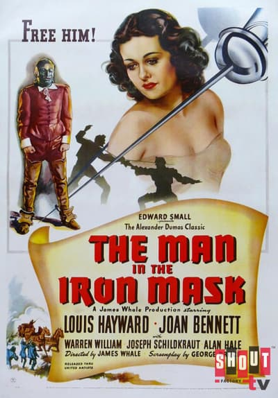 The Man in the Iron Mask Full Movie Poster Image