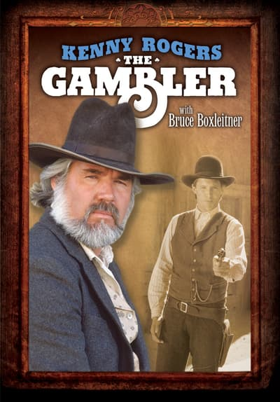 Kenny Rogers as The Gambler Full Movie Poster Image